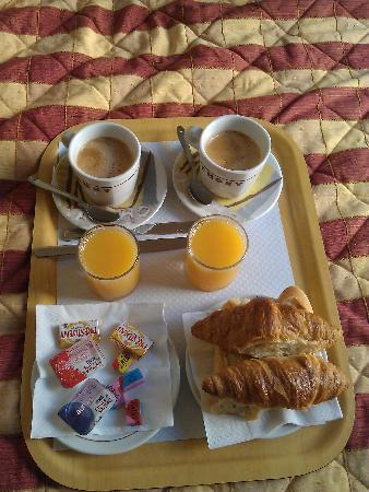 Hotel Dante: breakfast