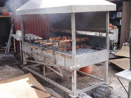 Peyia, Cyprus: BBQ