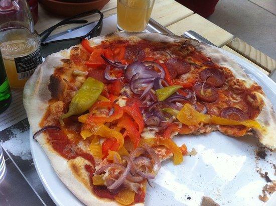 Vapiano: pizza diavolo
