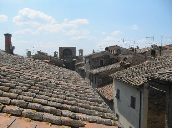 roof top view from balcony - picture of hotel bel soggiorno, san ... - Hotel Bel Soggiorno San Gimignano Tripadvisor
