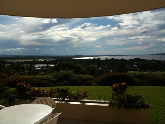 Noosa Crest: view from standard apartment