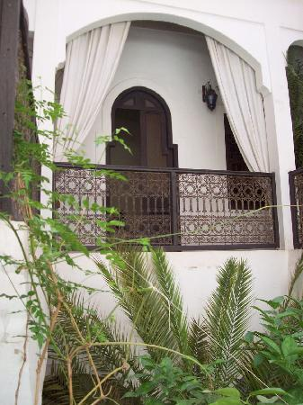 Riad Diarna: going up to the room