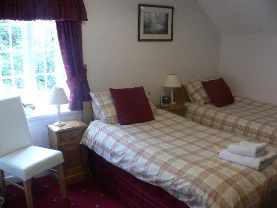 Glyntwrog House: Twin room 4