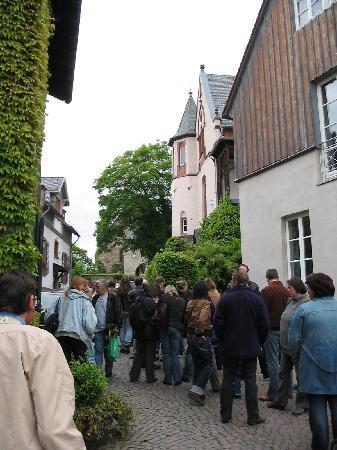 Ingang Burg Kronberg im Taunus
