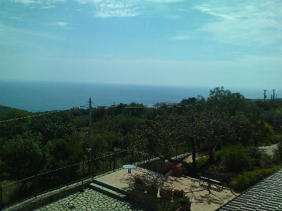 Hotel Relais du Silence Pian Delle Starze: Vom Zimmer in Richtung Marina di Camerota