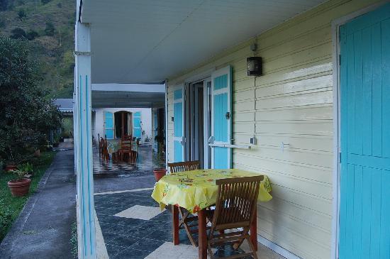 Cilaos, Reunion: Le gîte