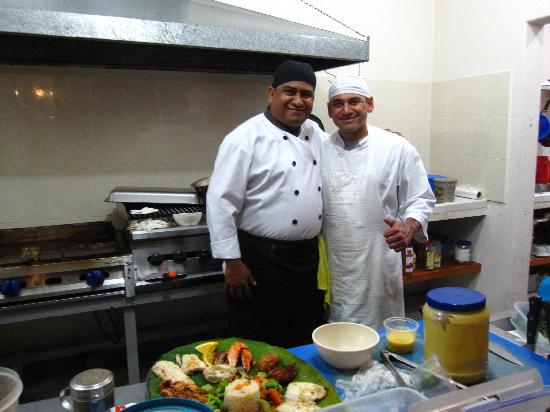 Las Mariscadas: The amazing chefs