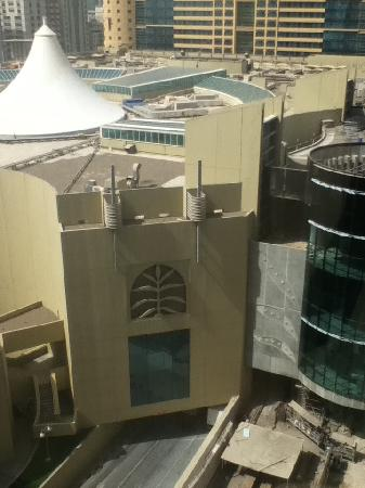 Al Rawda Arjaan by Rotana: view of Al Wahda Mall from the window