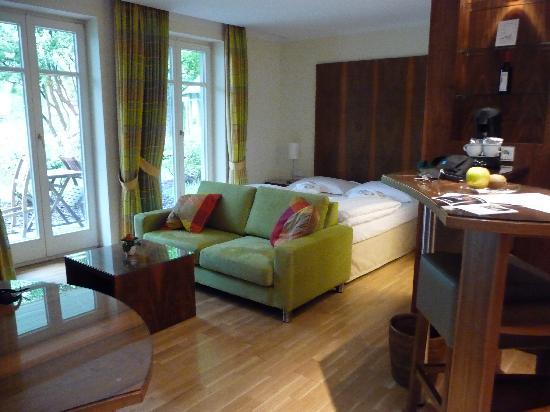 Maximilian Munich Apartments & Hotel: our beautiful room