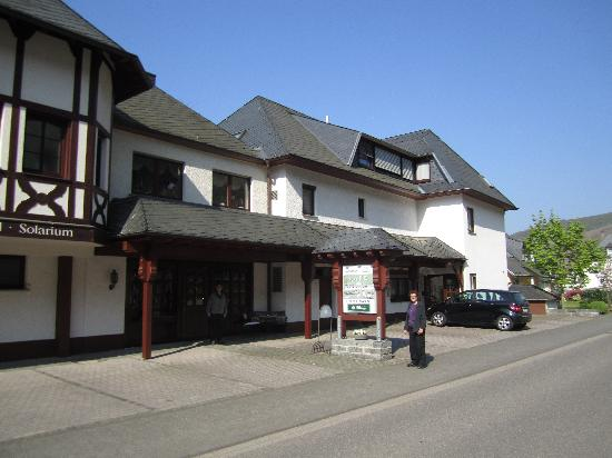 Zell, Germany: Front of Cafe Im Hamm