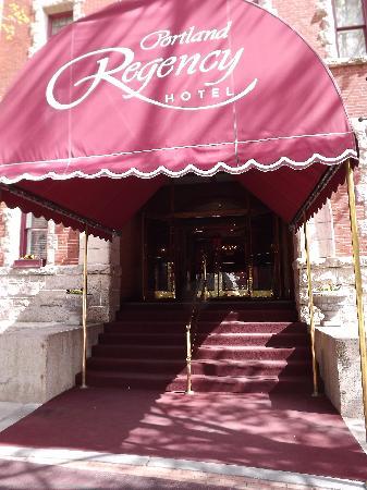 Portland Regency Hotel & Spa: Made us fee. like we were in Paris