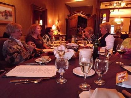 Portland Regency Hotel & Spa: Dinner in the Milk Pail restaurant