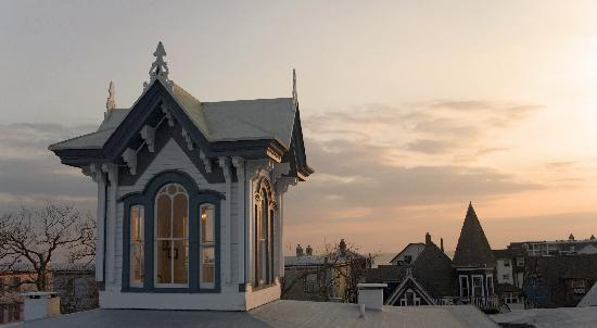 Carroll Villa Hotel: Our Cupola Offers Breathtaking View of Cape May Sunsets!