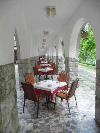 Vila Bled: ristorante