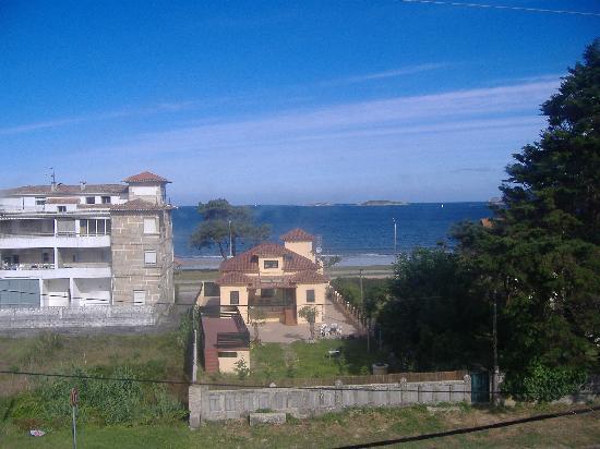 Hotel Miramar: vista desde  la  habitación desde  otro ángulo