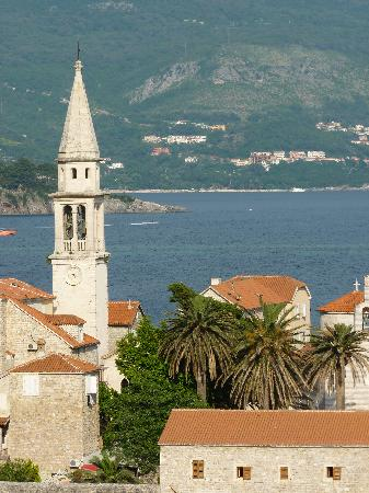 Avala Resort & Villas: View of the Charming Old Town of Budva