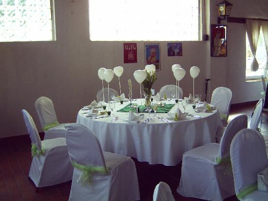 Tischdekoration zur hochzeit bild von romantik hotel - Hochzeits tischdekoration ...