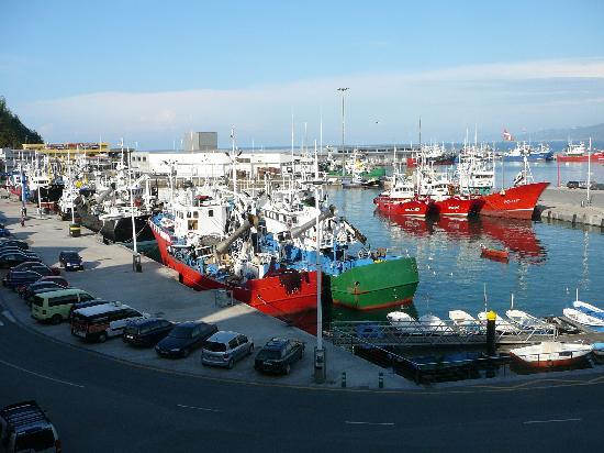 Saiaz Getaria Hotel: overlooking port