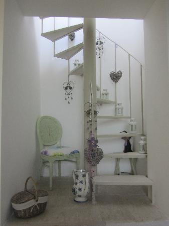 Villa Euchelia Resort: the stairs to the roof