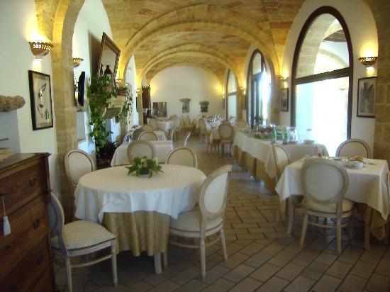 Masseria Ruri Pulcra Hotel & Resort: sala da pranzo