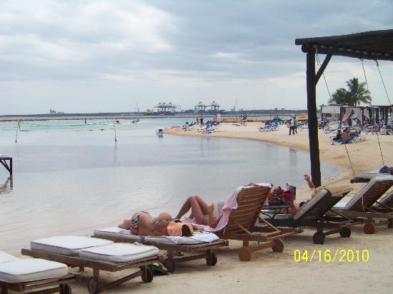 Be Live Experience Hamaca Suites : Voici la plage de l'hotel !!!! c'est ça la vraie vue