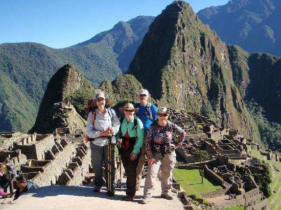Machu Picchu, Perú: We made it! (photo taken just below the Sun Gate)