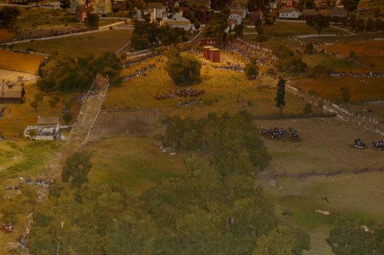 Gettysburg Diorama: Gettysburg