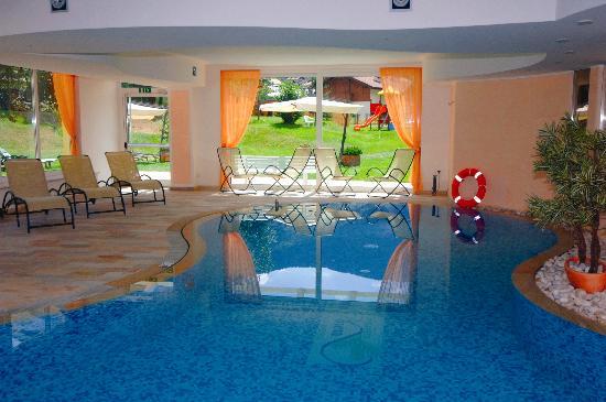 Centro Pineta Family Hotel & Wellness: piscina con vista estiva sul giardino