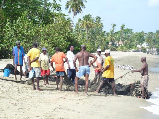 Turtle Beach by Rex Resorts: Local fishermen