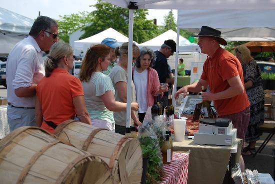 Greenport Farmers' Market, Inc. : Wine Tasting