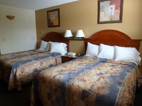 Econo Lodge Inn & Suites Drumheller: The bedroom