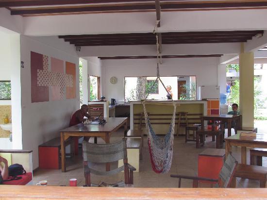 Pagalu Hostel: Sala de estar