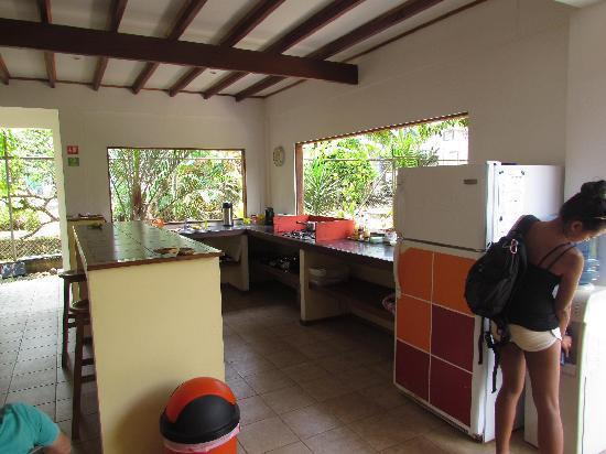 Pagalu Hostel: Cocina