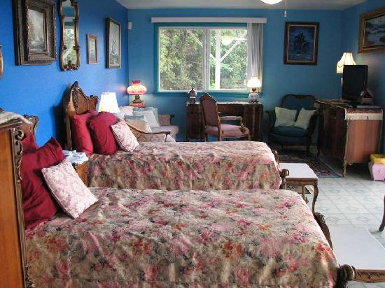 Plumeria Hill Bed & Breakfast: Ocean Blue Twin Suite @ $130 - $160 per night