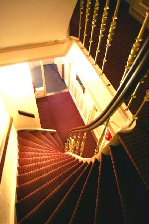 Hotel Asterisk: steep stairs