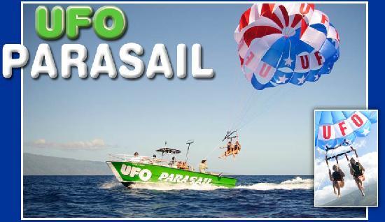 كايلو كونا, هاواي: UFO Parasail