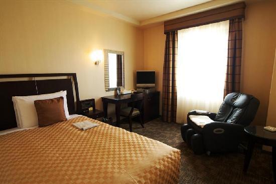 Solvita Hotel Naha: ビジネスで宿泊した室内の風景