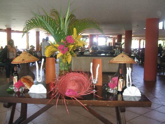Hesperia Playa El Agua: restaurant