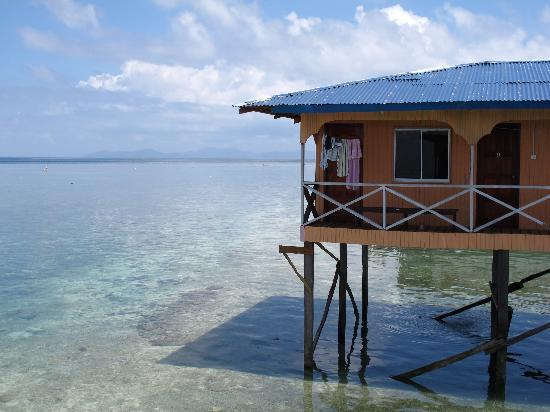 Arung Hayat Sea Adventures : Longhouse on stilts - ocean view