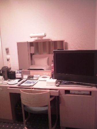 APA Hotel & Resort Tokyo Bay Makuhari: テレビはデジタルの薄型