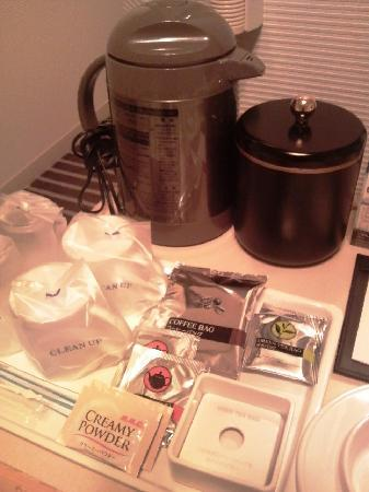 APA Hotel & Resort Tokyo Bay Makuhari: お茶もそろっています