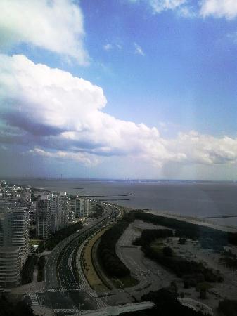 APA Hotel & Resort Tokyo Bay Makuhari: 外の眺めは最高ですよ