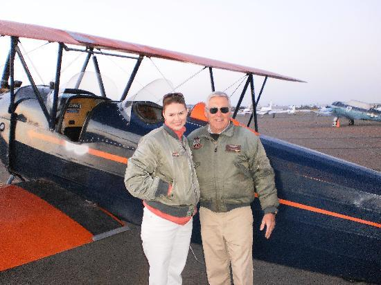 Barnstorming Adventures: Our plane and pilot