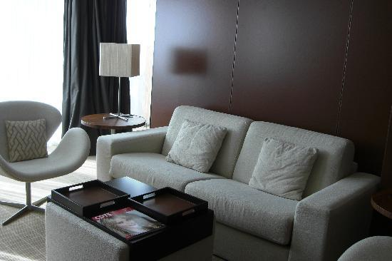 JW Marriott Cannes: Our sitting room