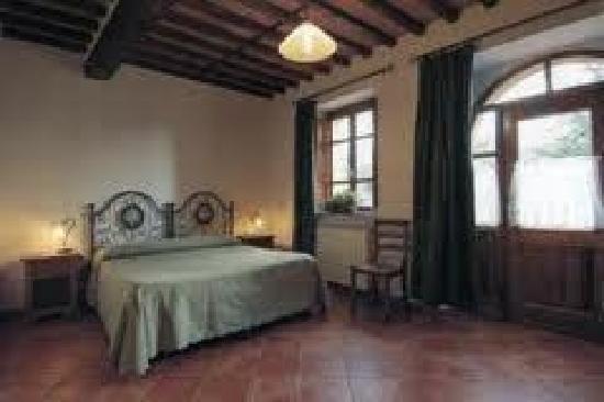 Villa Pardi Lucca: Zimmerbeispiel im Nebengebäude