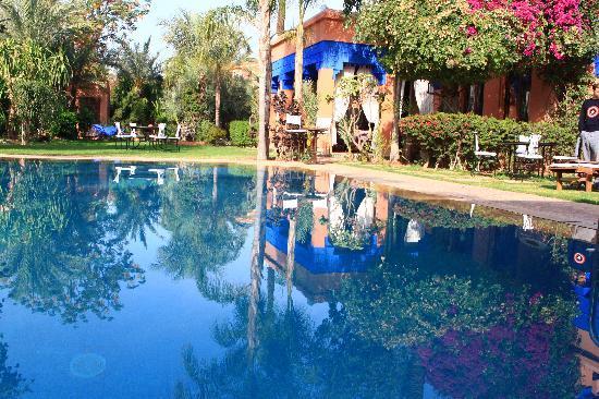 Villa Dar Zina : Un jardin magnifique