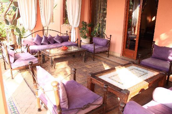 Villa Dar Zina : Pour se détendre et siroter un jus d'orange frais