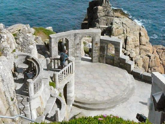 ‪‪Penzance‬, UK: Minack theatre stage‬