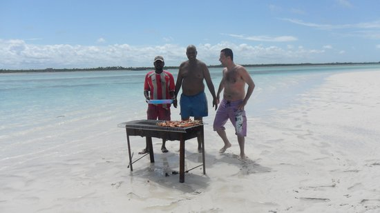 Malindi, Kenya: grigliata
