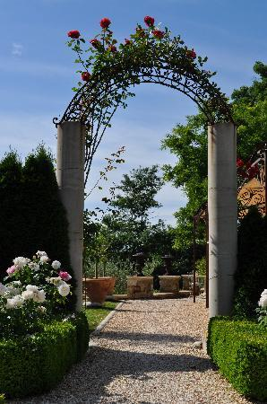 Borgo Santo Pietro: Entry To One of The Many Gardens